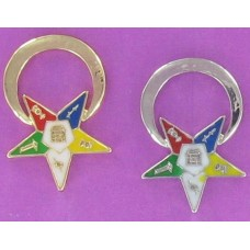 CH OES-2 Star and Circle Earring Charm