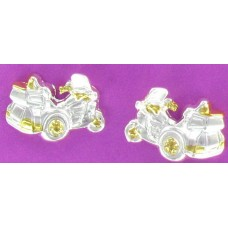 ER 1186 Trike Earrings