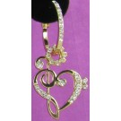 ECS27 Gold Treble Clef & Heart