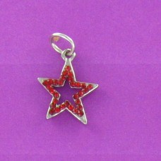 CH 1231 Red Open Star