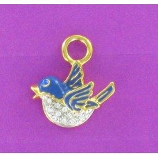 CH 24 Large Blue  Bird (Gold Only)